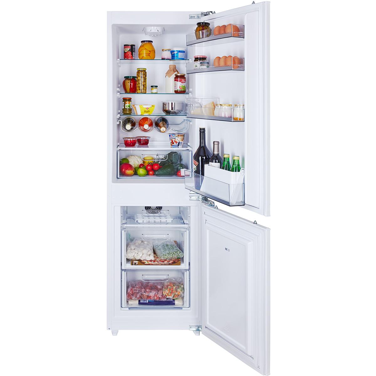 схема установки двери на встроенный холодильник